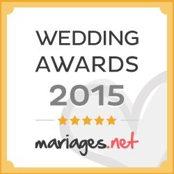 wedding award 2015 Make You Up mariages.net